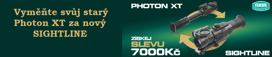 Výměna Yukon Photon XT za Sightline
