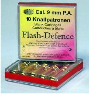 Plynová munice kal. 9mm PA FLASH DEFENCE