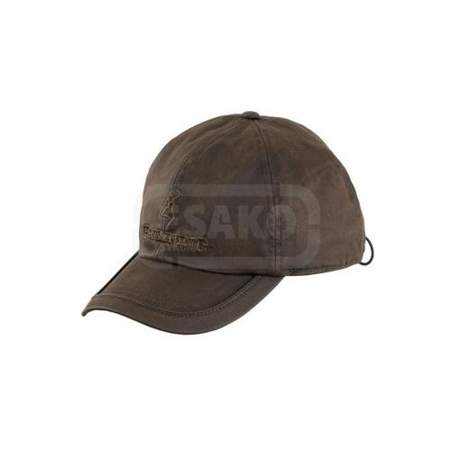 Lovecká zimní čepice - kšiltovka Browning uni velikost - hnědá 55bde0a2dd
