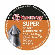 Diabolo Kvintor Super Pointed cal.4,5mm 300ks